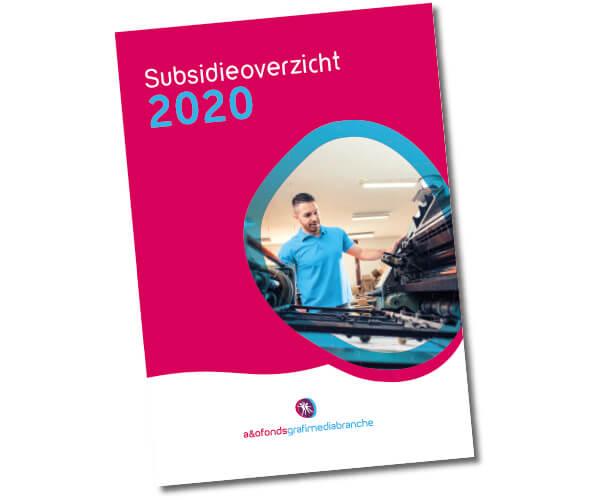 Subsidiegids 2020 beschikbaar