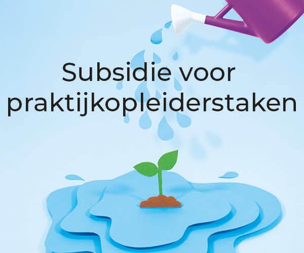 Subsidieregeling voor begeleidingstaken praktijkopleiders
